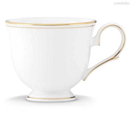 """Чашка чайная Lenox """"Федеральный,золотой кант"""" 180мл, цвет белый/золотой - Lenox"""