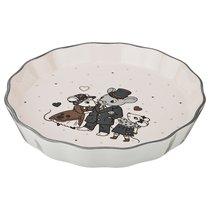 Блюдо Для Запекания Ля Мур Мышки 24X24 смВысота 4 см - FUJIAN DEHUA JIAFA CERAMICS