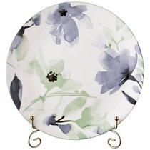Тарелка Обеденная Aquarelle 25,5 См Голубой, цвет голубой - Lianjun Ceramics