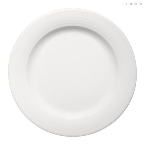 Тарелка круглая 28 см, плоская c бортом, Dialog - Bauscher