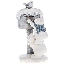 Фигурка Белые Медведи 29x24,5x53 см С Led-Подсветкой - Chaozhou Fountains & Statues