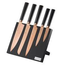 Набор из 5 ножей и подставки Titan Copper - Viners