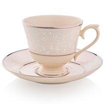 """Чашка чайно-кофейная с блюдцем 180мл """"Чистый жемчуг"""" - Lenox"""