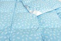 """ОП-Э-22 Одеяло """"Дольче"""" 200х220, цвет голубой - АльВиТек"""