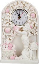 Часы Кварцевые Настольные Коллекция Amore 14x6 см.Высота 23 см.Диаметр Циферблата 6 см. - Chaozhou Fountains&Statues