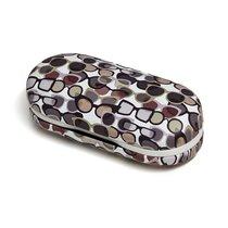 Футляр для очков и контактных линз Twin pattern разноцветный, цвет белый - Balvi