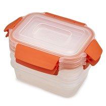 Набор из 3 контейнеров Nest Lock 540 мл оранжевый - Joseph Joseph