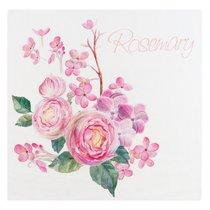 Ткань хлопок купоны Шарм ширина 220 см/ 2001/3, цвет розовый - Altali