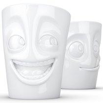 Набор из 2 кружек Tassen Joking & Tasty 350 мл белый - Fiftyeight Products