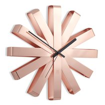 Часы настенные RIBBON медь - Umbra