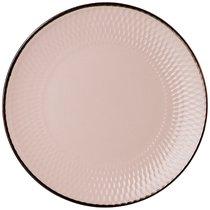 Тарелка Десертная 20 см Коллекция Графика Цвет:Розовый Отлив - Changsha Happy Go