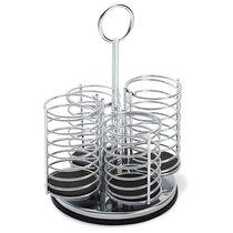 Подставка для столовых приборов Prodyne, 4 отсека, металл - Prodyne