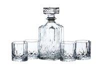 Набор для виски, Декантер 900 мл, стакан 200мл 4 шт - KitchenCraft