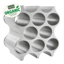 Подставка для бутылок SET-UP Organic, серая - Koziol