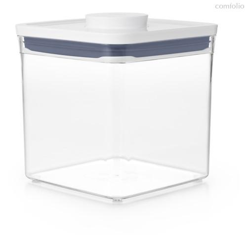 Контейнер квадратный для сыпучих продуктов с вакуумной крышкой OXO 2,6л - Oxo