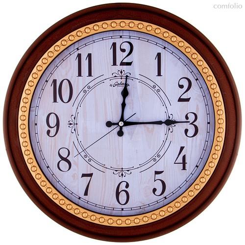 Часы Настенные Кварцевые Диаметр 44,5 см Диаметр Циферблата 34,65 см - Aypas