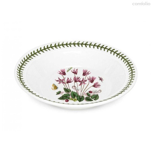 "Тарелка суповая Portmeirion ""Ботанический сад. Цикламен"" 20см - Portmeirion"
