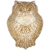 Блюдо Owl Gold 17Х12Х3,5 см Без Упаковки - Akcam