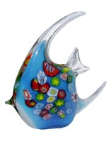 Фигурка Цветная рыбка 15,5х14,5см - Art Glass