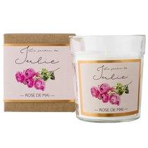 Свеча ароматическая Le jardin de Julie Майская роза 30 ч - Ambientair
