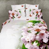 Комплект постельного белья RS-68, цвет белый, размер Евро - Famille