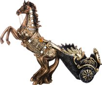 Подставка Под Бутылку Лошадь 40,5x15x32,5 см - Chaozhou Fountains&Statues