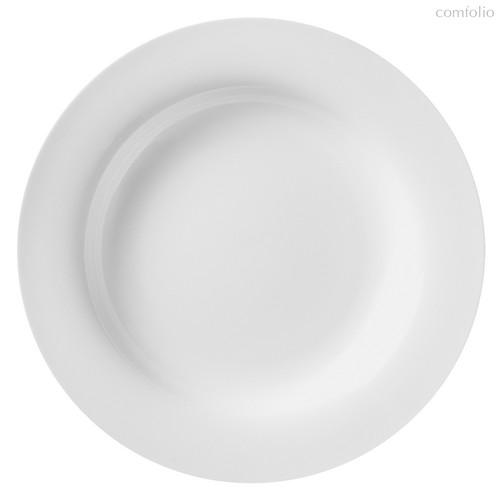 Тарелки глубокие 28 см, цвет белый - Top Art Studio