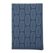 Полотенце кухонное с принтом Sketch синего цвета из коллекции Wild, 45х70 см - Tkano
