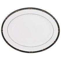 """Блюдо овальное 40,5см """"Классические ценности"""", цвет белый, 40 см - Lenox"""