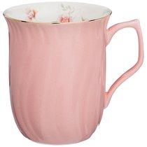 КРУЖКА ВРЕМЕНА ГОДА 400 мл 11x8,5x10,5 см, цвет розовый - Jinding