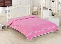 Простынь ROSE махра жаккард в короб. (200х220) KARDELEN, цвет розовый - Meteor Textile