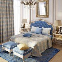 """Покрывало """"Генуя"""", 240x260 см, P759-8759/M, цвет голубой, 240x260 - Altali"""
