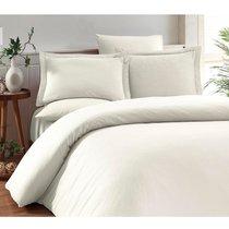 Постельное белье Karna Ruya, бамбук, цвет экрю - Karna (Bilge Tekstil)