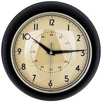 Часы Настенные Кварцевые Lovely Home Диаметр 23 см Цвет:Черный - Arts & Crafts