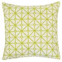 "Декоративная подушка ""Трианон"", 40х40 см, 712-2008/1, цвет зеленый - Altali"
