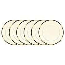 """Набор из 6 тарелок обеденных Lenox """"Подлинные ценности"""" 27см - Lenox"""