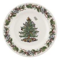 Тарелка закусочная Spode Рождественская ель. Эксклюзив 20см - Spode
