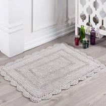 Коврик для ванной Evora, кружевной, цвет бежевый, 50x70 - Bilge Tekstil