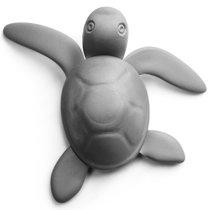Магнит Save Turtle, темно-серый - Qualy