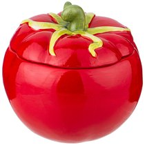 Емкость Для Сыпучих Продуктов Tomatto 13. 5x13. 5 см Высота 13 см780 мл - New Qili Arts