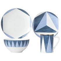 """Набор 1/4 """"Аззурро.Треугольники"""" (Лука Андрисани) - Lenox"""