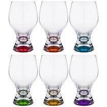 Набор бокалов для ВОДЫ из 6 шт. GINA 450 мл ВЫСОТА=16 СМ (КОР=8Набор.) - Crystalex