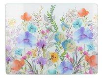 Доска стеклянная Цветочный луг 30х40 см - Creative Tops