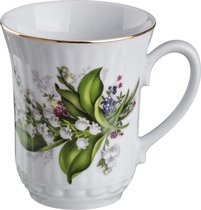 КРУЖКА ЛАНДЫШ 300 мл ВЫСОТА 10 см - Cesky Porcelan