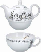 Чайник для одного Алиса в стране Чудес 250мл - Creative Tops
