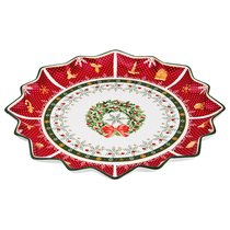 Блюдо Christmas Collection Диаметр 38 см Высота 4 см - Chanzhou Cheerful Porcelain