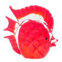 Фигурка Красный дискус 15х13см - Art Glass