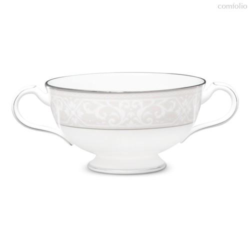 "Чашка суповая 210мл ""Монтвейл, платиновый кант"" - Noritake"