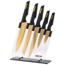 Набор Ножей Agness На Подставке, 6Пр - YANGJIANG EKA