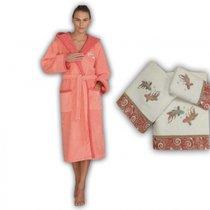 Полотенце банное RICHIESTA SOMON (св. розовый), цвет розовый, 70x140 - Roseberry